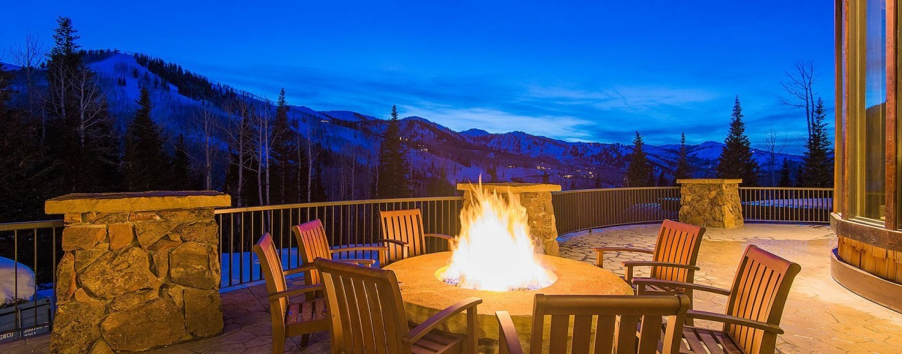 A view from one of Abode Park City vacation rentals