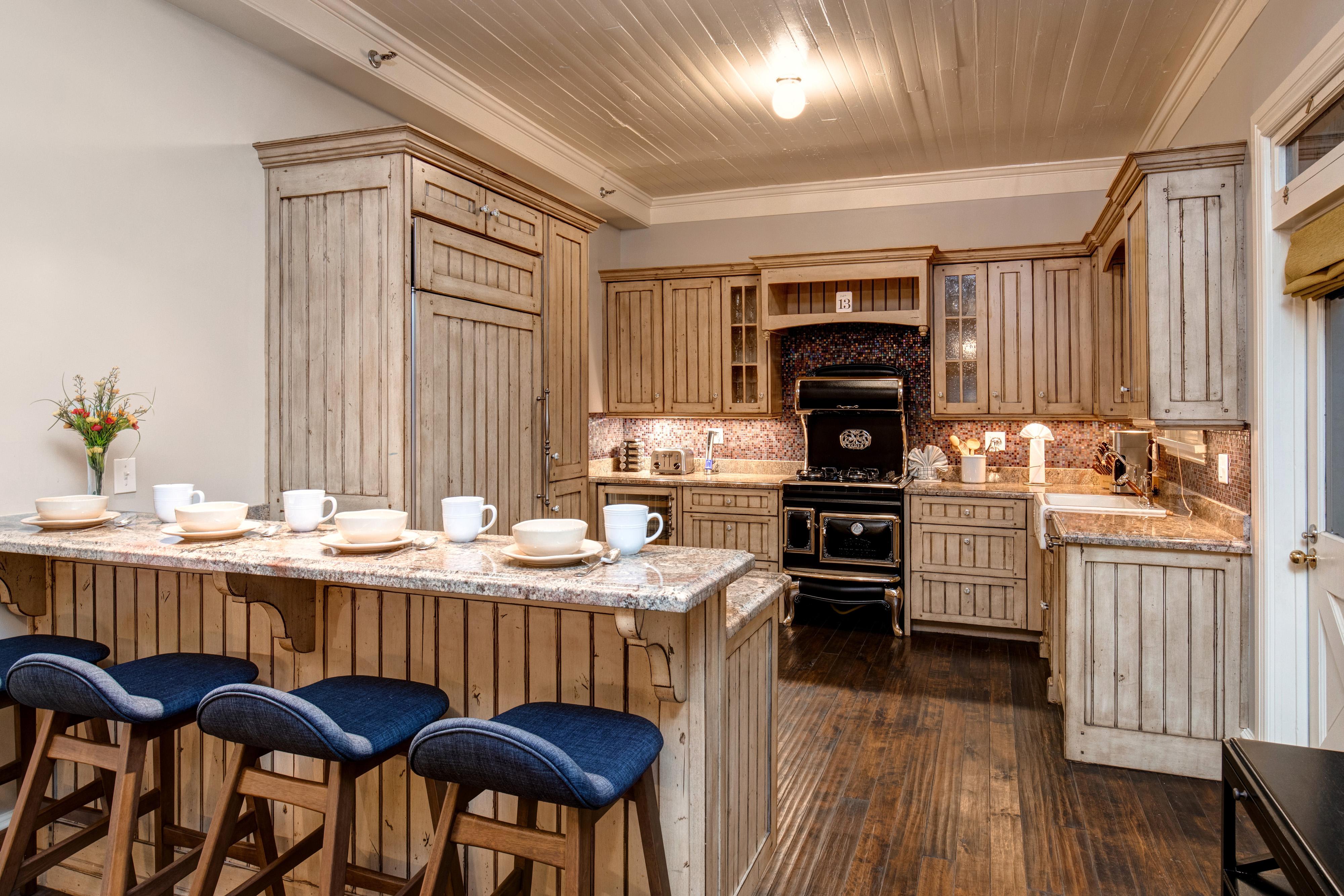 Abode Luxury Rentals Park City Heirloom House Interior Kitchen 1 Abode