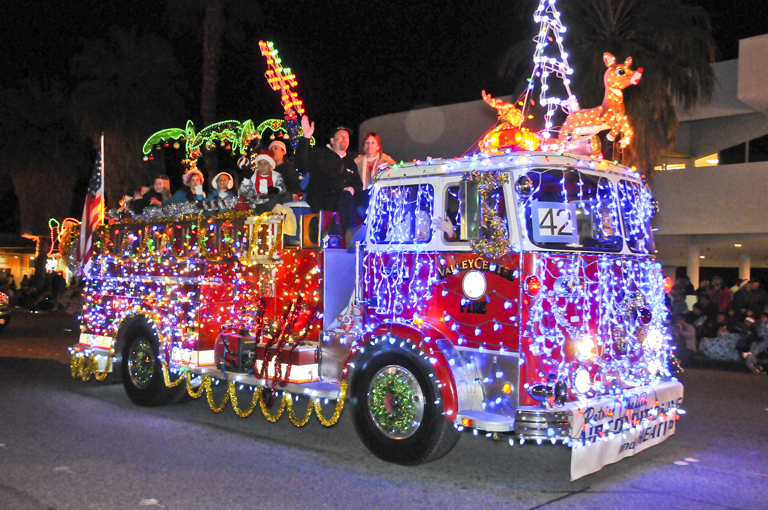 Palm Springs Festival of Lights Parade impacts advanced bookings for vacation home rentals. Photo Courtesy of David A. Lee