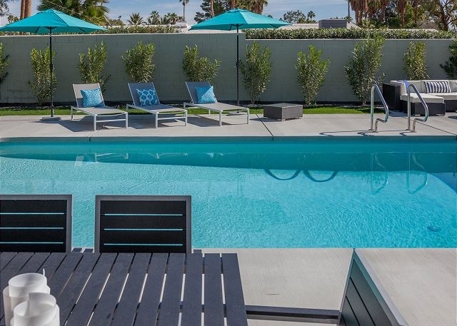 Simply Alexander - Private Pool Area - Palm Springs Mid Century Modern Vacation Home by Acme House Co.