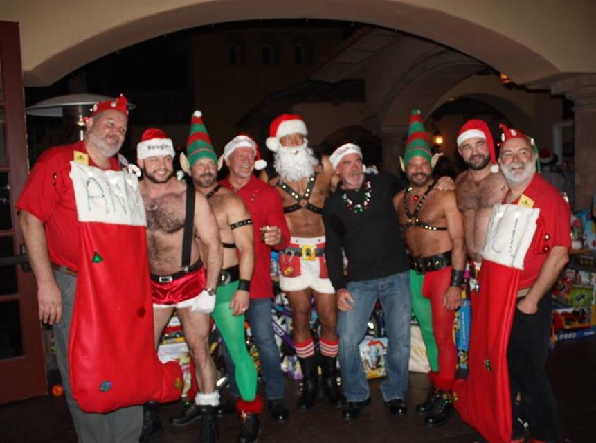 Art & Gene's 9th Annual Festival of Lights Parade Party & Toys for Tots Fundraiser - Photo Courtesy of Art Strong