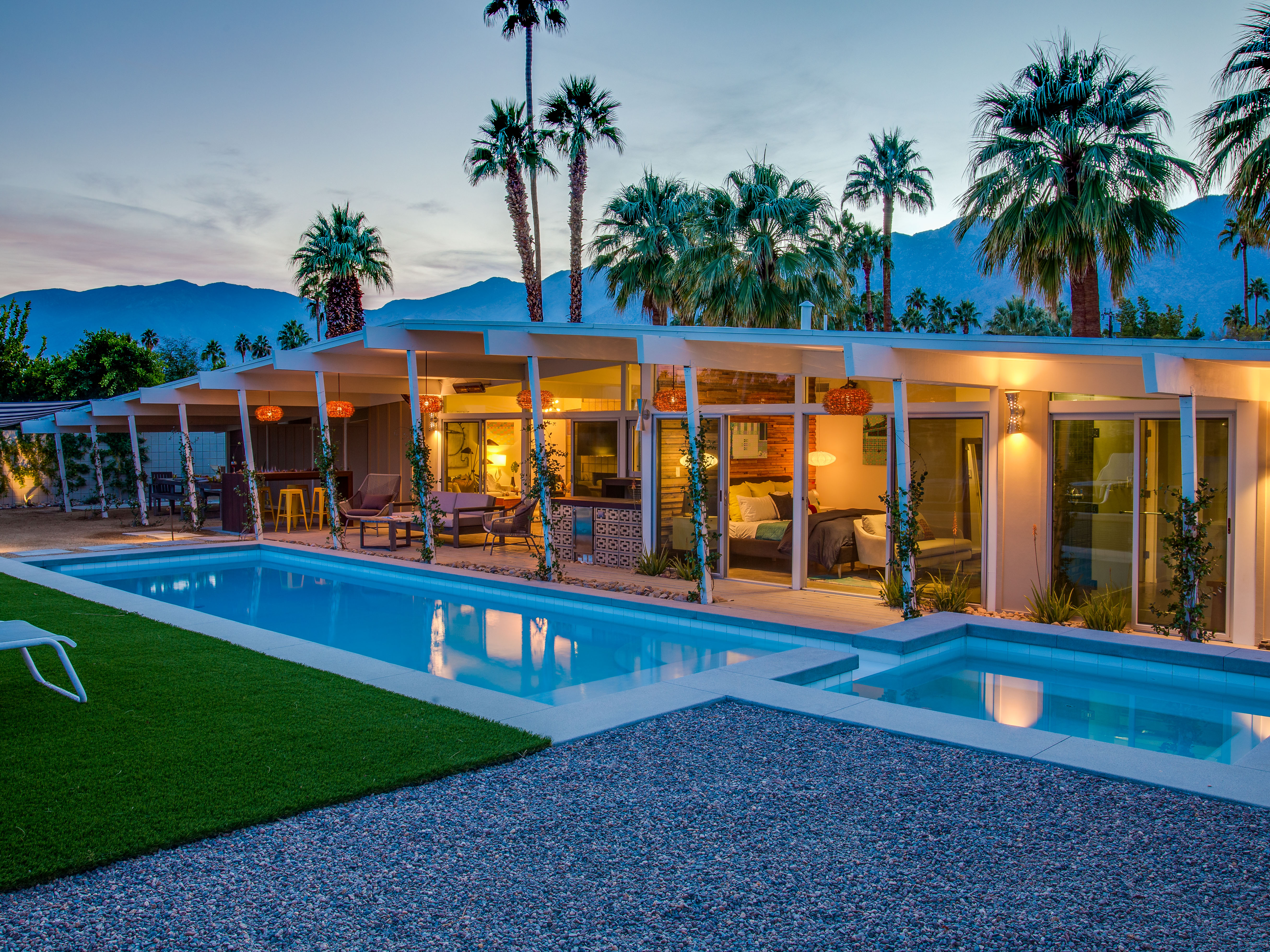 The West Elm House, Palm Springs