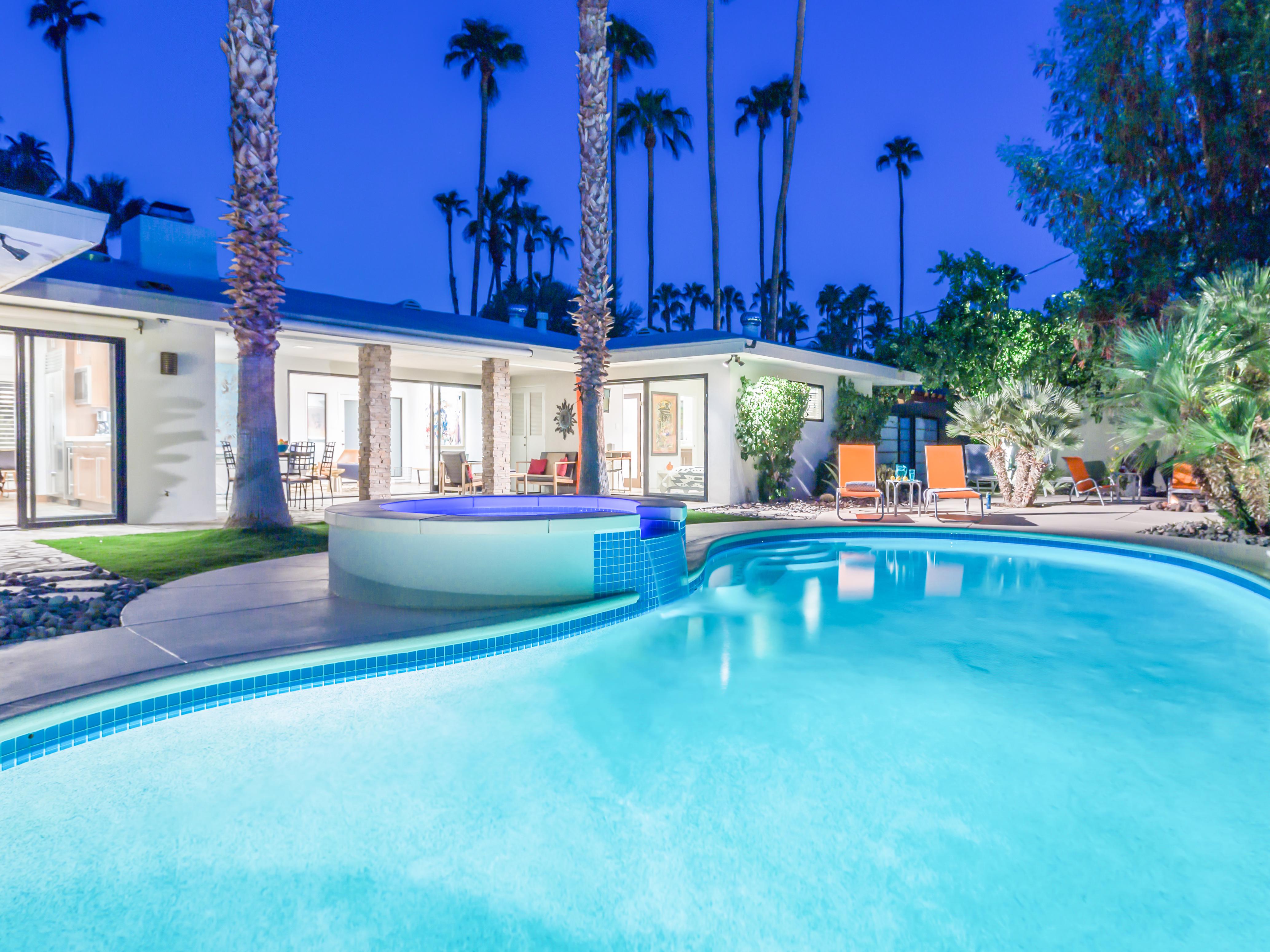 The Marley Estate in Palm Springs - Dawn McCoy