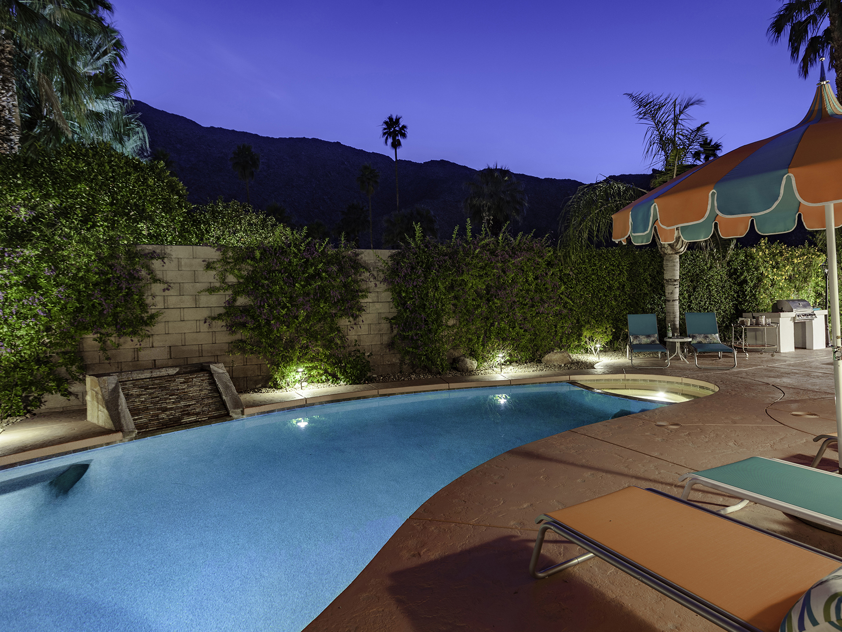 Center Court Villa - Palm Springs Vacation Home Rental - in Downtown Palm Springs