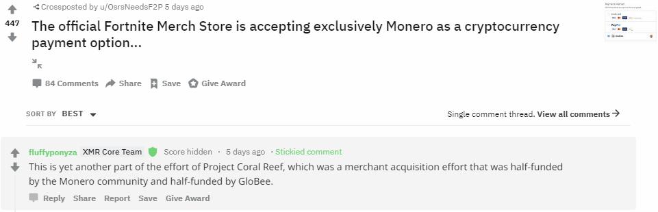 La breve incursión de Fortnite en Monero [XMR] fue 'accidental', dice el fundador de Epic Games