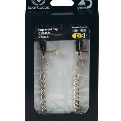 Adjustable Tapered Tip Clamps with Link Chain by Spartacus