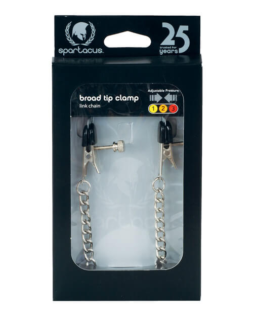 Adjustable Broad Tip Clamps with Link Chain by Spartacus