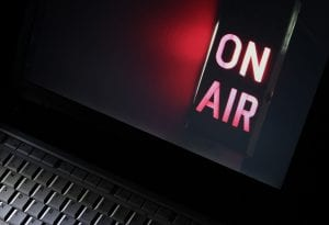Broadcast - On Air sign