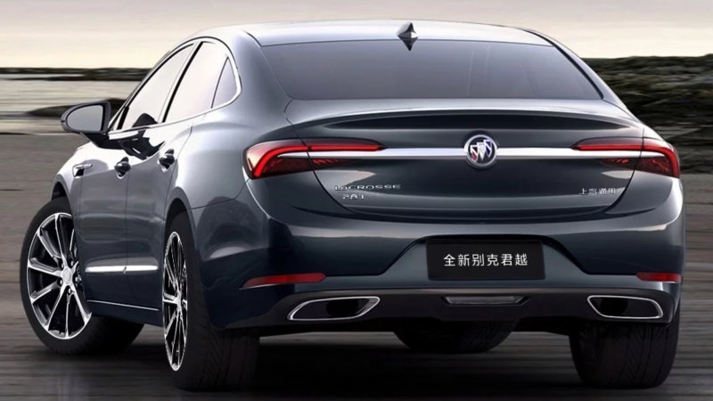 2020 Buick LaCrosse shows a handsome new face, but not for ...