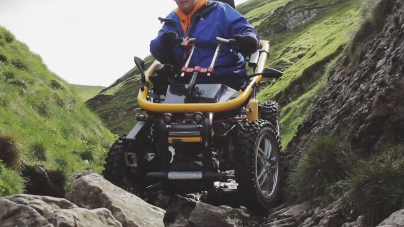 These all-terrain electric wheelchairs can travel pretty much anywhere
