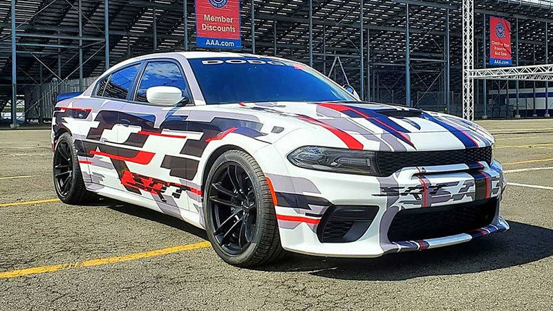 Dodge brings Charger Widebody 'concept' to Spring Fest
