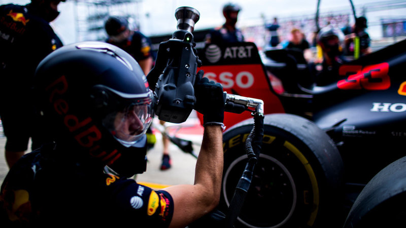 Red Bull Racing sets the world record for fastest pit stop