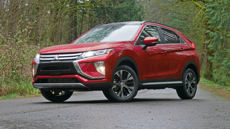Mitsubishi Eclipse Cross small crossover is an IIHS Top Safety Pick