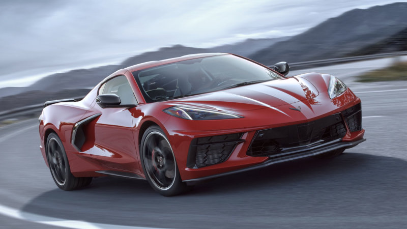 Mid-engine Chevy Corvette C8 revealed