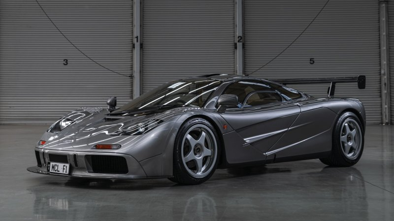 McLaren F1 LM-Specification going up for auction at Monterey Car Week