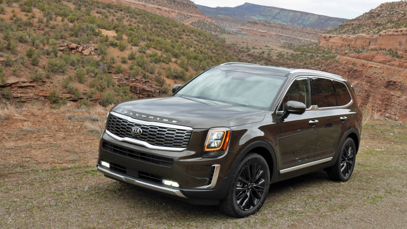 2020 Kia Telluride earns IIHS Top Safety Pick rating