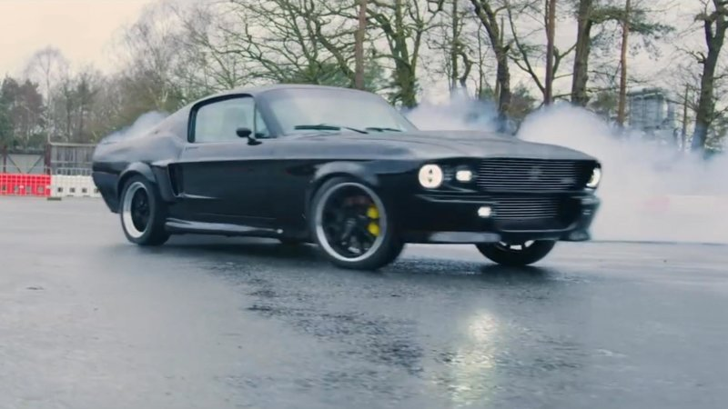 This electric Mustang hits 60 mph in just 3.99 seconds