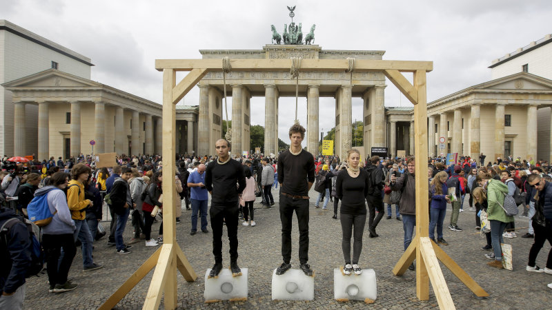 Germany sets $60B climate policy as youths protest worldwide