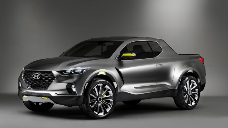 2022 Hyundai Santa Cruz compact pickup confirmed