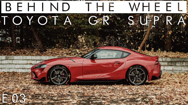 We spent some time behind the wheel of the new Toyota Supra