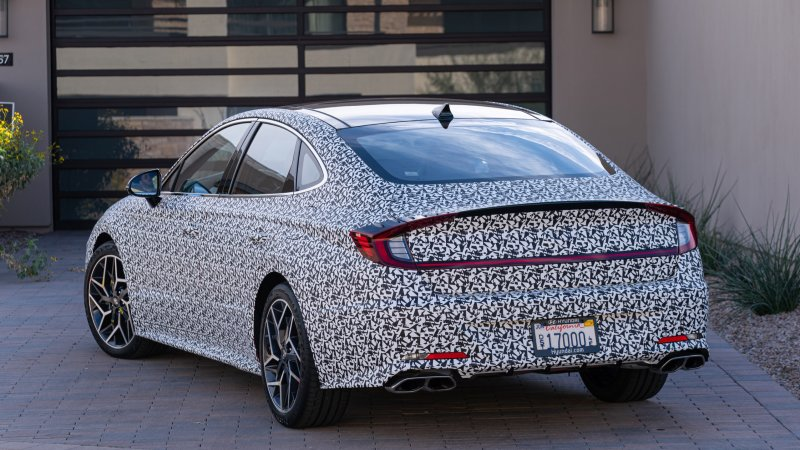 2021 Hyundai Sonata N-Line Review | Specs, photos, driving impressions