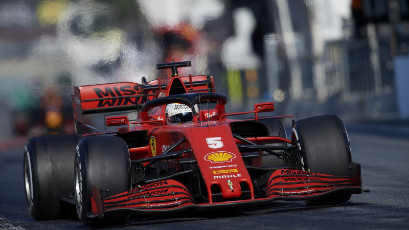 Ferrari F1 boss says 'the others are faster than us'