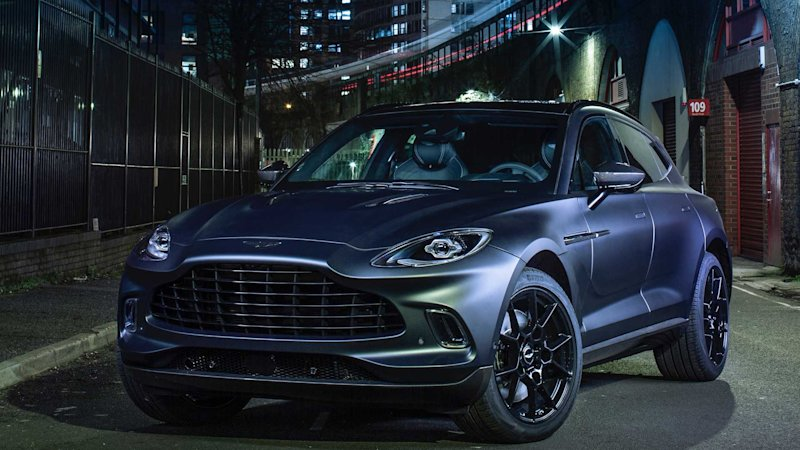 DBX goes black tie with Q by Aston Martin