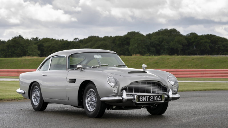 First Aston Martin DB5 Goldfinger Continuation complete