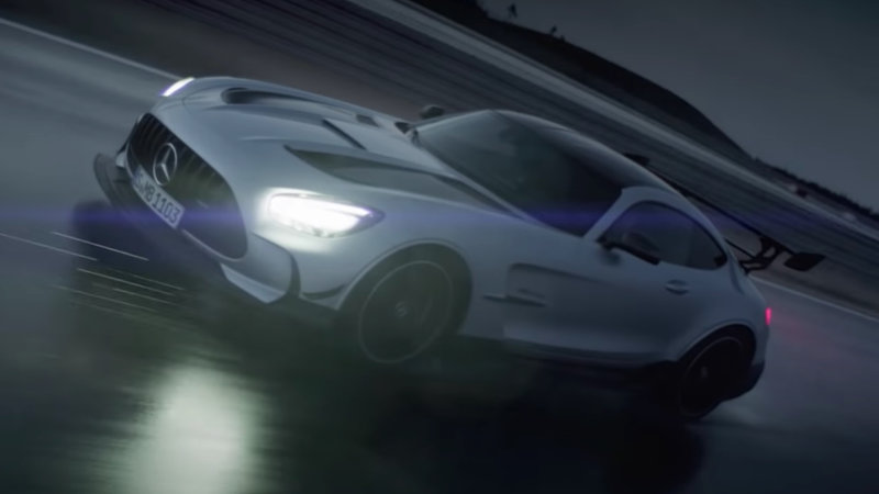 2021 Mercedes-AMG GT Black Series supercar revealed in trailer