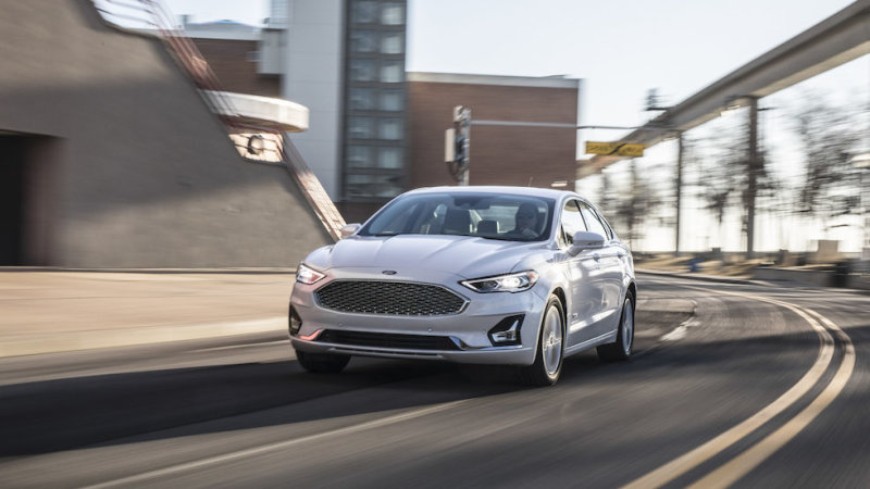 Ford ends production of the Fusion, its last remaining four-door car