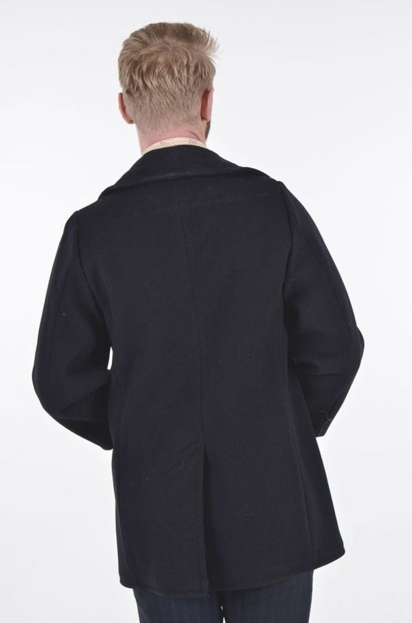 Vintage Navy Clothing Factory pea coat