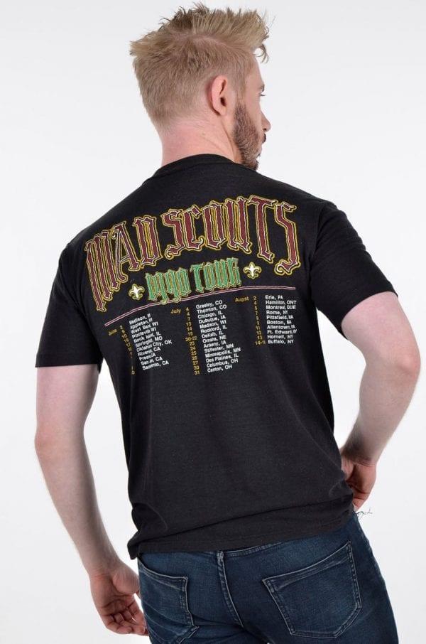 Vintage 1990 Mad Scouts Tour t shirt