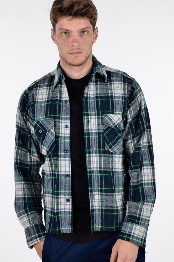 Vintage Woolrich plaid shirt