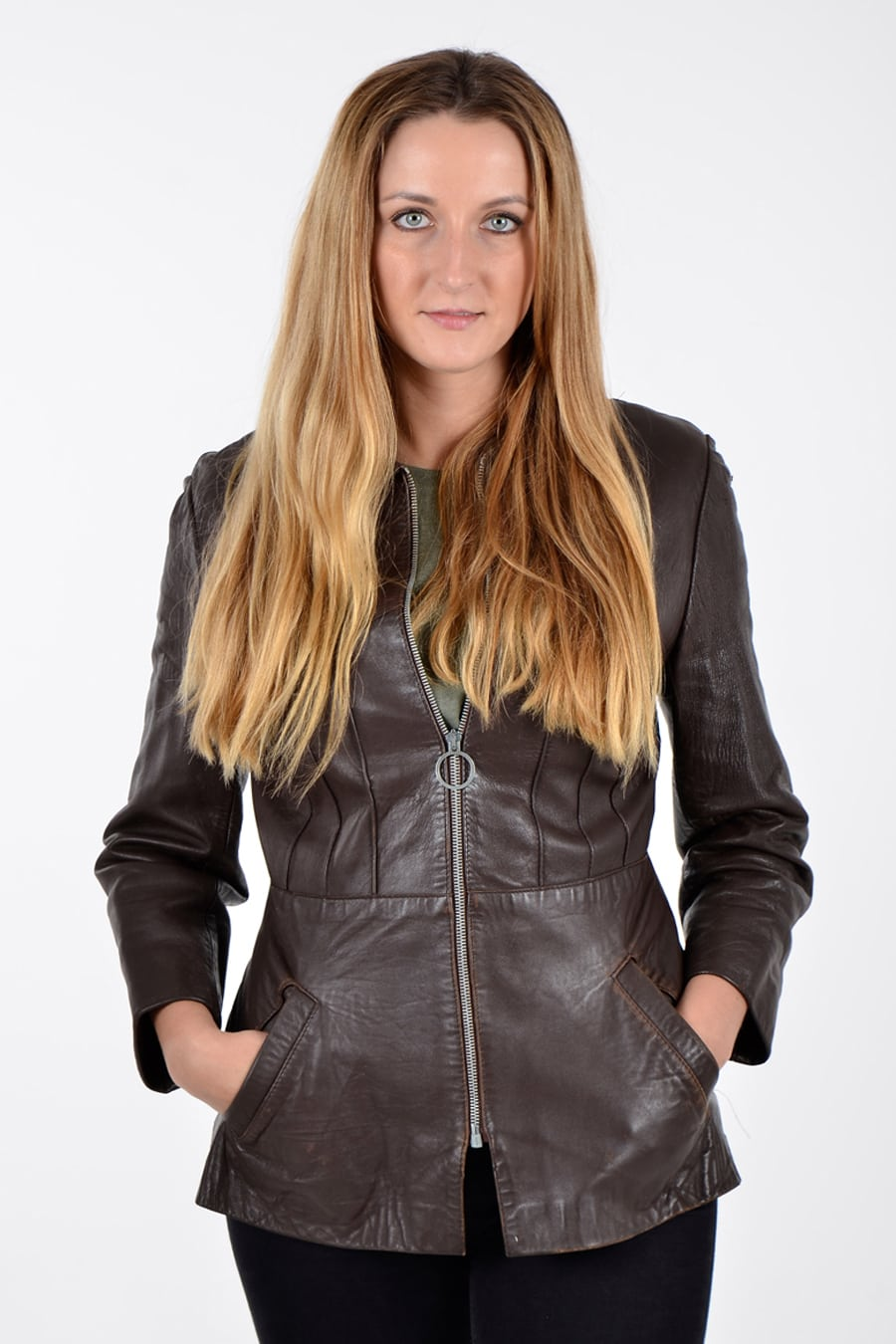 Vintage Spinney leather jacket