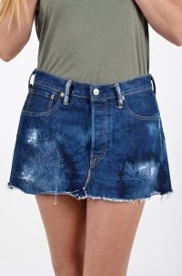Vintage Levi's 501 denim mini skirt