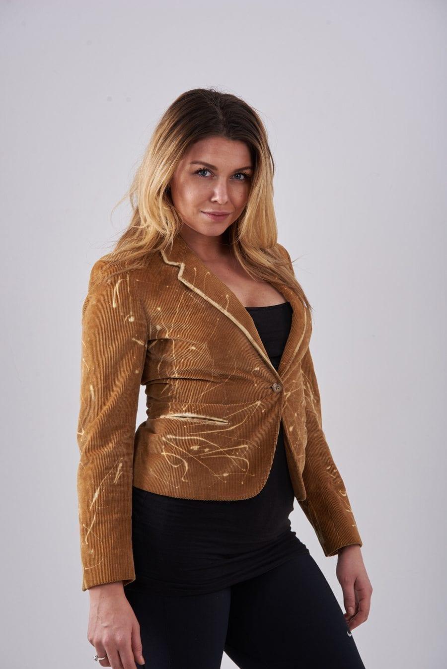 Women's vintage corduroy jacket