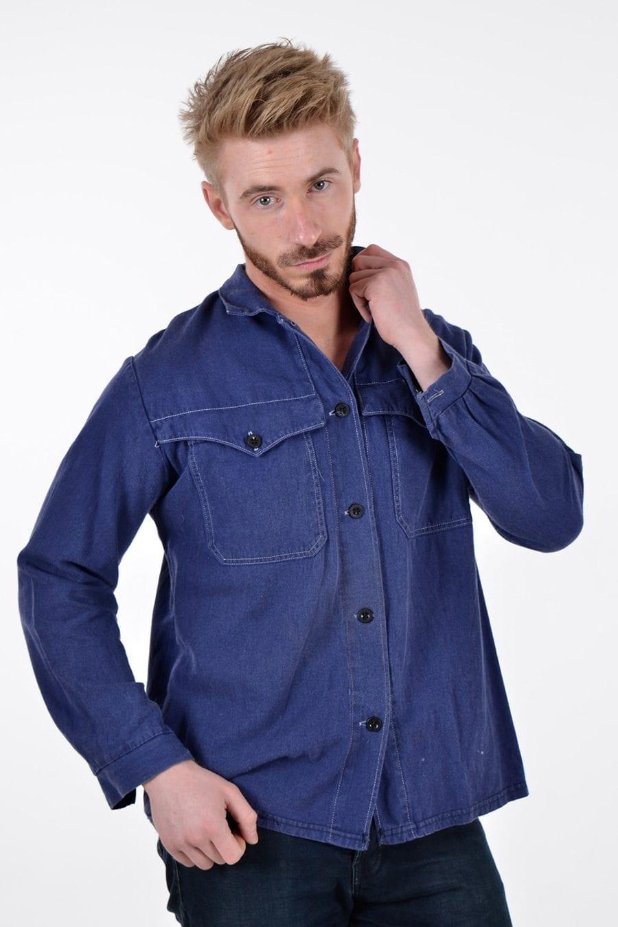 Vintage cotton chore jacket