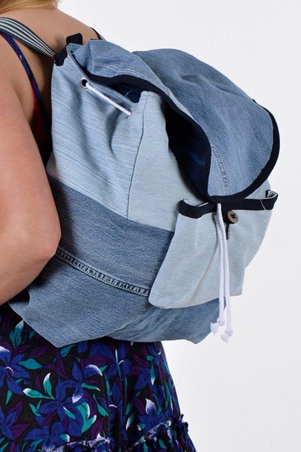 Vintage Levi denim rucksack