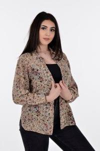 Women's vintage silk shirt