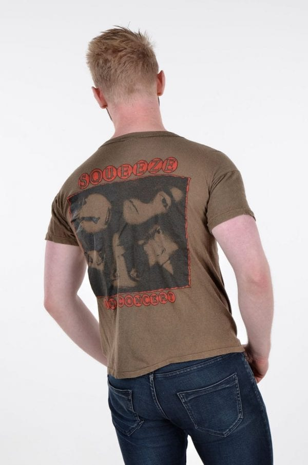 Vintage 1970's Squeeze On Tour t shirt