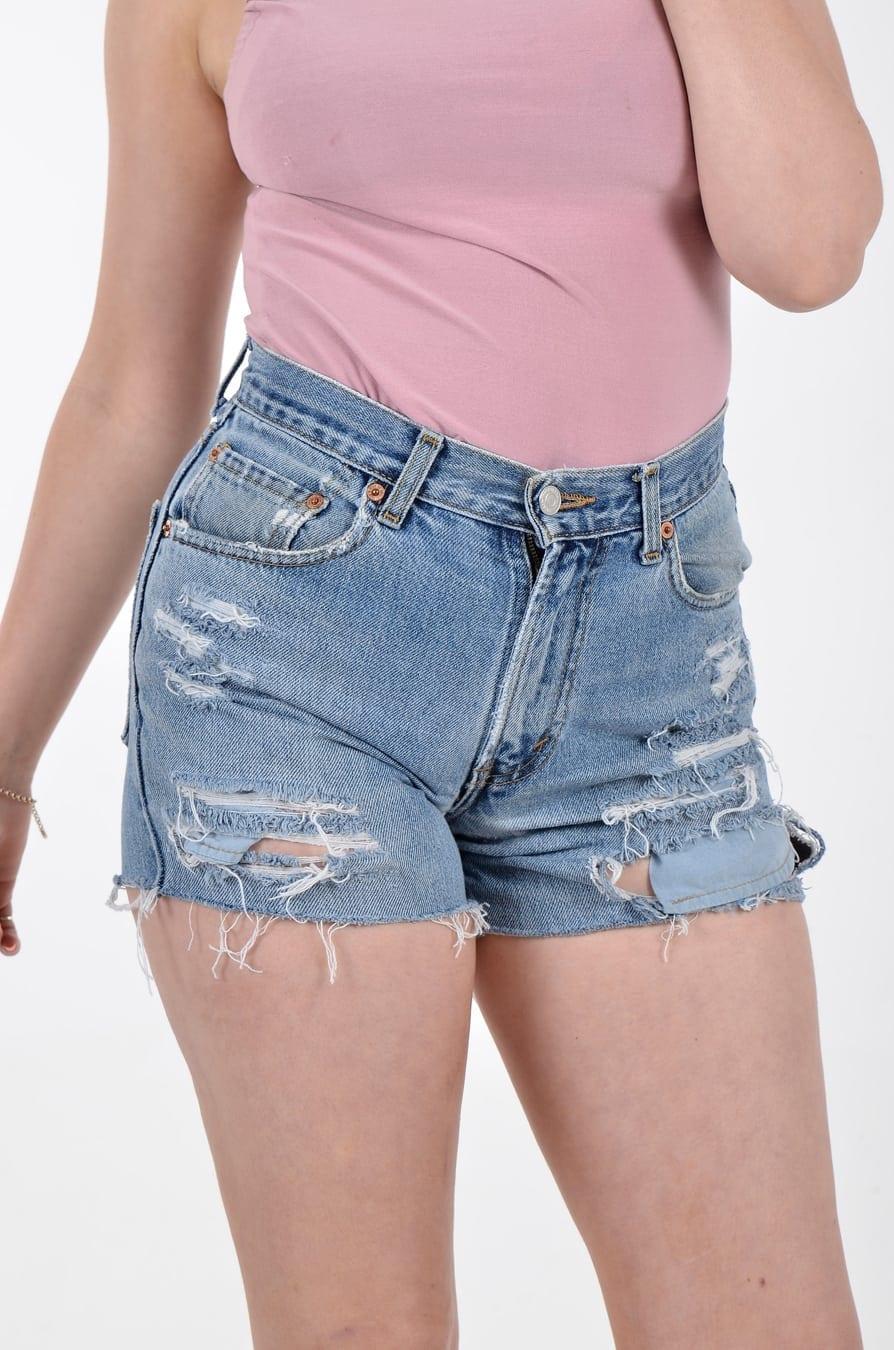 vintage high waisted levi shorts