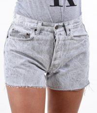 Vintage Levi's 501 acid wash shorts