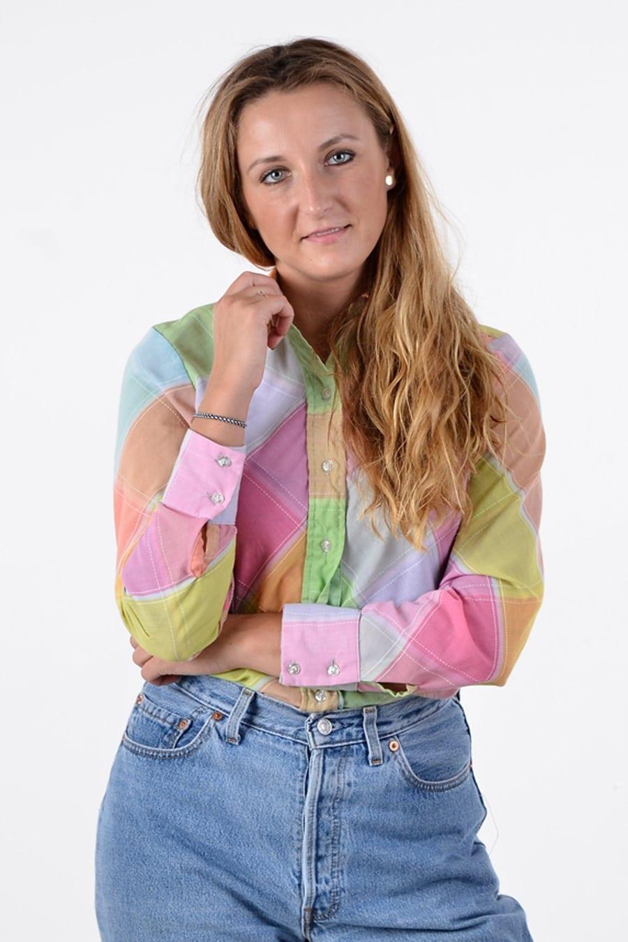 Vintage 1970's Wrangler shirt