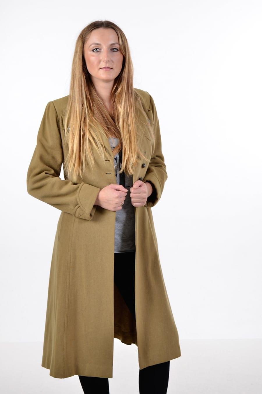 Vintage 1960's swing coat