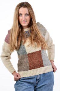 Vintage women's wool jumper