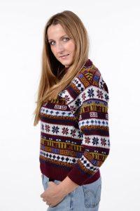 Vintage women's Christmas sweater
