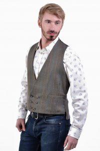 Vintage tweed waistcoat