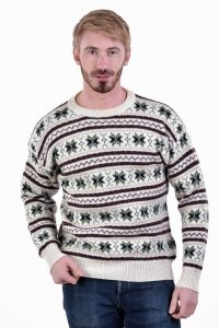 Vintage men's Christmas jumper