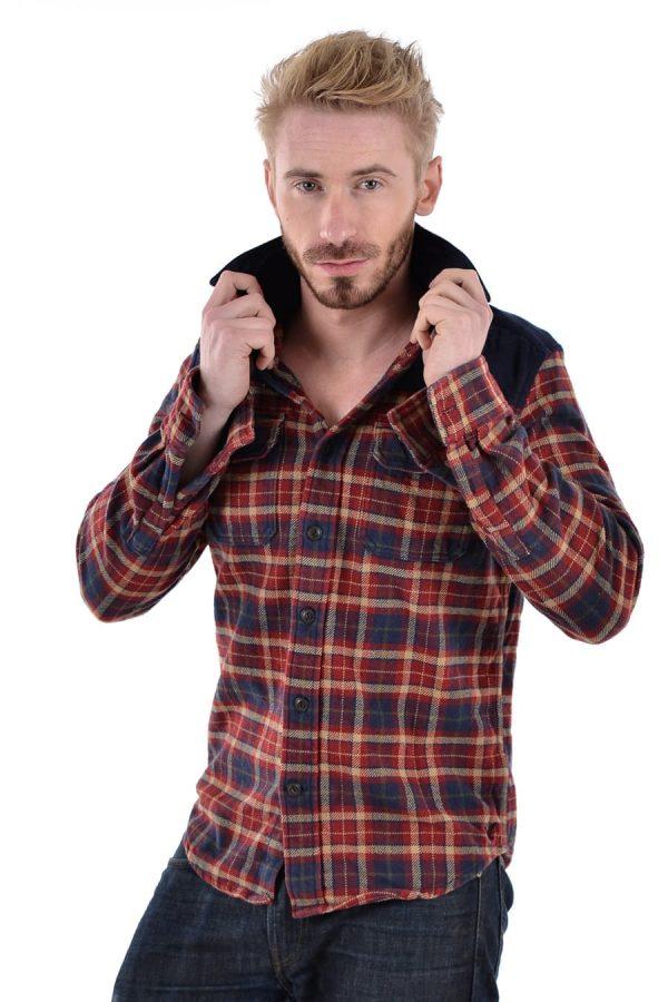 Vintage men's flannel shirt