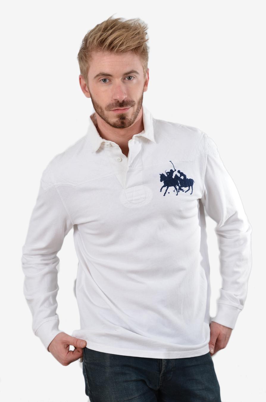Vintage Ralph Lauren rugby shirt